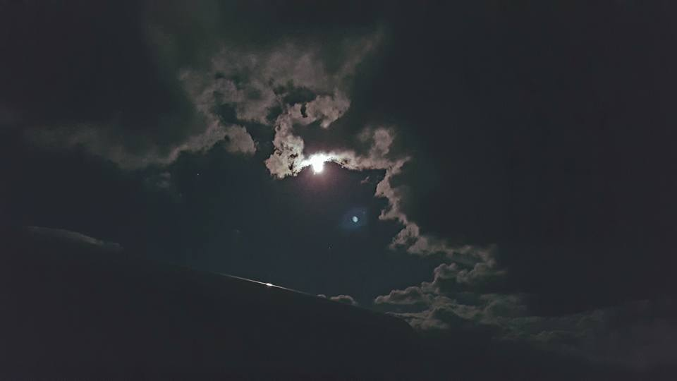Full Moon Cloud Show